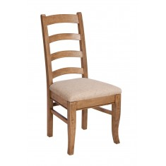 Florence Mango and Stone Ladder Back Dining Chair
