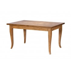 Florence Mango and Stone Small Extending Dining Table