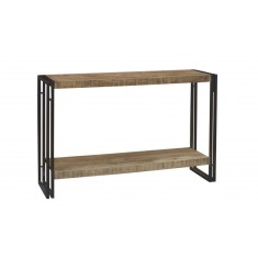 Imari Industrial Mango Console Table