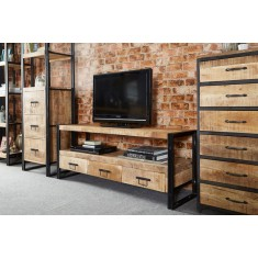 Imari Industrial Mango Large Plasma TV Unit