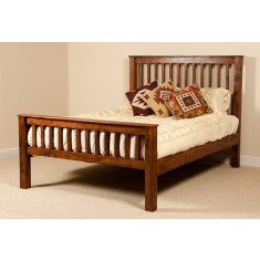 Kashmir Sheesham Double Bed