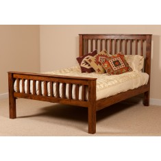 Kashmir Sheesham Super Kingsize Bed