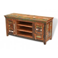 Reclaimed Indian Wide TV Cabinet