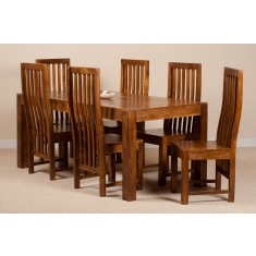 Dakota Mango 6 Seater Dining Set