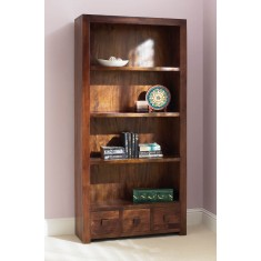 Dakota Mango Tall Bookcase