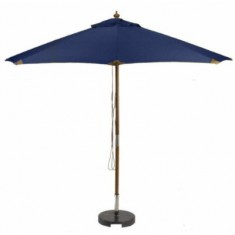 Sturdi PLUS 3m FSC Wood Parasol - Navy Blue