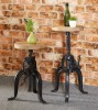 Imari Industrial Mango Small Crank Table